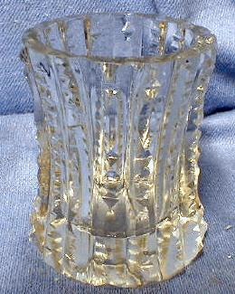 Cut Glass Toothpick -  ZIPPER Brilliant Cut Glass Crystal