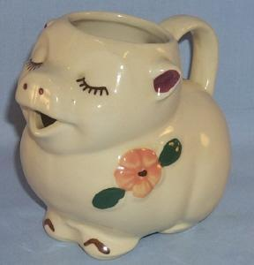 Shawnee SMILEY  Pottery Creamer