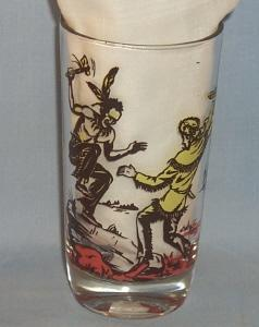 DAVY CROCKETT Water Glass