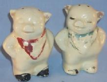 Shawnee SMILEY Pottery Salt & Pepper Shaker Set