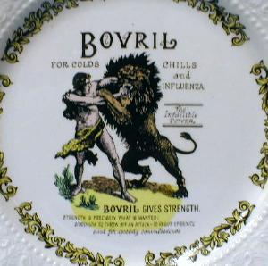 BOVRIL Medicine - Colds Chills & Influenza THE INFALLIBLE POWER - Lord Nelson Pottery
