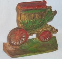 Cast Iron COACH Doorstop - Metalware