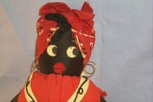 Mammy NEW ORLEANS Cloth Doll - Ethnographic
