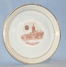 FRANKFURT Advertising Porcelain Souvenir Dish