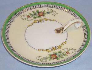 Delicate NORITAKE Porcelain Lemon / Nappy Dish
