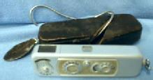 Photography  Minox WETZLAR Spy Camera with Case Flash Chain -