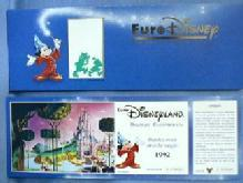 old vintage 1992 Disneyland  Euro GRAND OPENING Ticket -