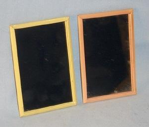 Two SHIRLEY TEMPLE Pocket Glass Mirrors - Toys