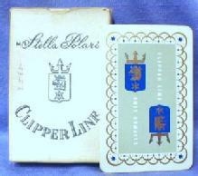 old vintage STELLA POLARIS Clipper Cruise Line Playing Cards   - Vintage Advertising paper