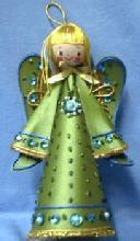Christmas ANGEL Ornament - Vintage  Angel   - German Holiday Misc