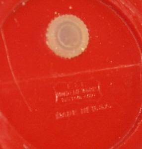 AUNT JEMIMA  & UNCLE MOSE Plastic Salt and Pepper Set - Ethnographic