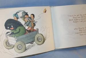 Florence Upton's THE GOLLIWOG'S AUTO-GO-CART Book - Ethnographic