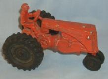 Red MINNEAPOLIS-MOLINE Toy Tractor - Toys