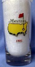old 1995 Masters Golf Tumbler - Masters Champions - Sporting Glass