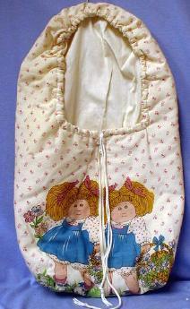 vintage Original Cabbage Patch Kid Doll w/Certificate -