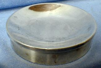 Sterling Paperweight Pin Dish - Sterling Silver by Crown