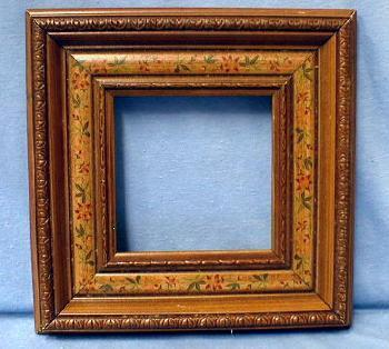 Folk Art Frame - Hand Painted Penn Dutch - Misc