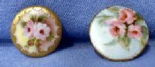 Sewing Button - Hand Painted Porcelain