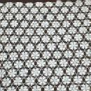 old Crochet Tablecloth - Vintage Large Tablecover - textile