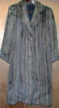Original Silver Mink Fur Coat STUNNING Vintage