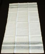 antique Linen Table Runner or HUGE Towel - Vintage textile