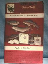 old Netcraft Fishing Tackle 1970s Catalog - Sporting paper