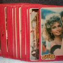 vintage 1976 GREASE Trade Card Group - Paramount Picture Advertising
