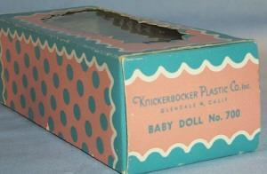 Knickerbocker Plastic Boy Doll in Original Box - Toys