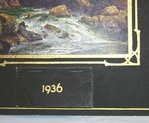 FORD Dealer Advertising 1936 Calander