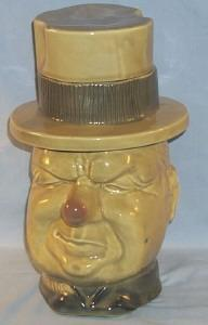 Novel McCoy W.C. FIELDS Pottery Cookie Jar