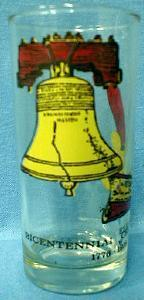 Limited  USA 1976 Bicentennial Celebration  Glass Tumbler