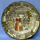 Pottery  QUEEN ELIZABETH Coronation Souvenir Plate -