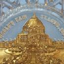 1904 ST. LOUIS WORLDS FAIR Decorative Glass Plate