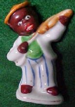 Occupied Japan Black Musician - Porcelain/Fine China