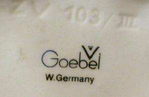 Goebel White SWAN - Goebel Porcelain West Germany