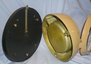 RUSSIAN NUCLEAR SUBMARINE CLOCK - Militaria Metalware