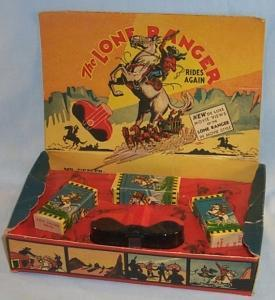 THE LONE RANGER RIDES AGAIN Movie Viewer Set in Original Box - Toys