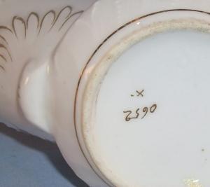 BIRD Decorated Porcelain Shaving / Scuttle Mug