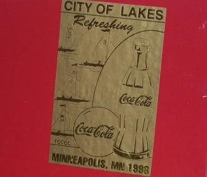 COCA COLA City of Lakes SAILBOAT in Original Box - Toys