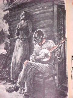 Old Black Joe 1st Ed Stephen Foster Book- Paper