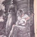 Old Black Joe 1st Ed Stephen Foster Book- Paper