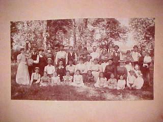 Photo Family Vintage Reunion - Paper