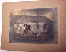 Victorian Man and Cabin  - Paper