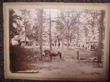 1900 Camp Photo - Paper