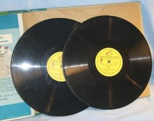 RCA Victor LITTLE BLACK SAMBO Story Book with Records - Ethnographic