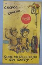 Black Americana COCA COLA  Advertising POSTCARD - Ethnographic