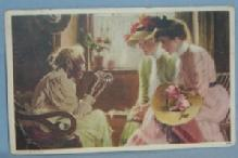 Black Americana POSTCARD - Older Black Lady in Rocking Chair - Ethnographic