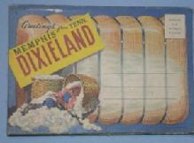 Black Americana Folding POSTCARD - Greetings from Dixieland, Memphis, Tenn - Ethnographic