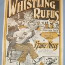 Black Americana WHISTLING RUFUS Music Book - Ethnographic