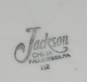 SAMBO'S Advertising Ironstone Dinner Plate